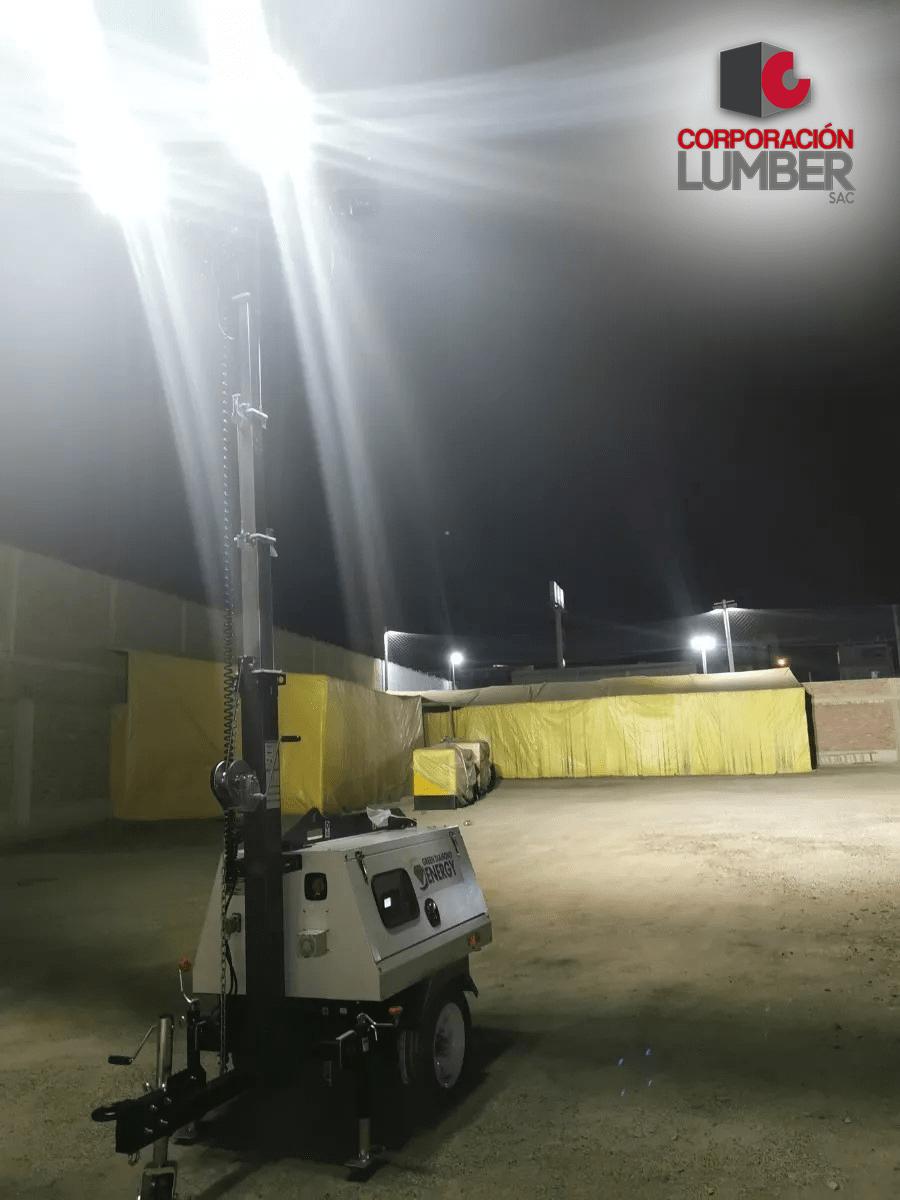 torre de iluminacion led